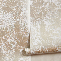 Shimmered Archive Wallpaper by Anthropologie