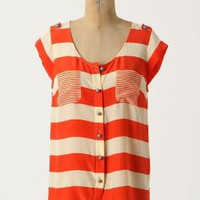 Amplified Stripes Blouse - Anthropologie.com