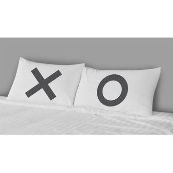 The Rise And Fall Xo Pillow Case Set White One Size For Women 25085115001