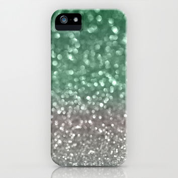Mint and Gray iPhone & iPod Case by Lisa Argyropoulos | Society6