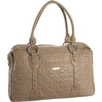 Storksak Women`s Elizabeth Quilted SK715 Diaper Bag,Fawn,One Size