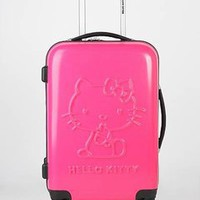 hard case hello kitty swivel suitcase &amp;#36;260.00 in FUCH HTPNK SILVER - Hello Kitty | GoJane.com