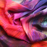 Sunset Storm Silk Scarf