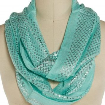 SEQUIN ETERNITY SCARF