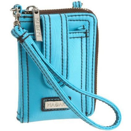 Hadaki Essentials Wristlet Wallet,Blue,one size