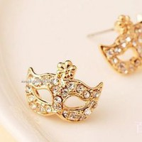 Opera Mask Fashion Earrings  | LilyFair Jewelry