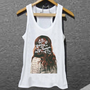 Florence + The Machine for Tank top Mens and Tank top Girls customized