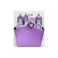 Bain D`esprit - Lavender Vanilla Spa Bath and Body Gift Set - Spa Gift Basket