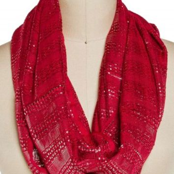 LUREX ETERNITY SCARF
