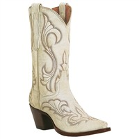 El Paso leather boot with stitching