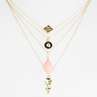 Topshop Charm Necklaces (Set of 4) | Nordstrom