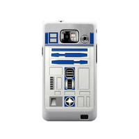 Star Wars R2D2 robot samsung galaxy S2 case ( white / Black Color Case )