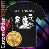 Trailer Park Boys Custom Black T-Shirt Size S-2XL