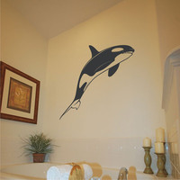 whale wall decal Whale