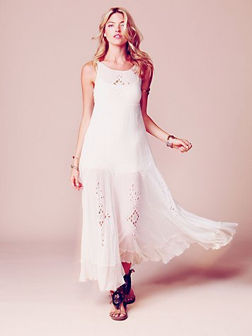 Free People FP ONE Limited Edition Beach Bride Dress