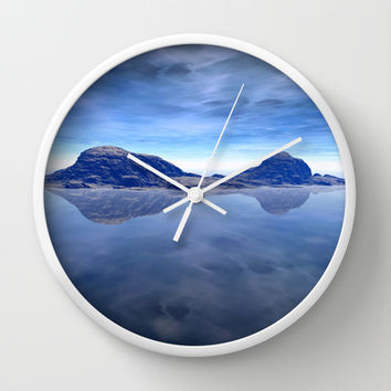 Eternal Siblings Wall Clock by Texnotropio | Society6