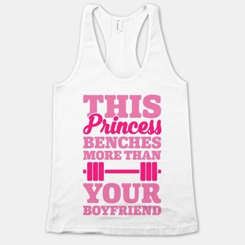 This Princess Benches More Than Your Boyfriend
