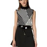 Stacey Belted Mod Skirt