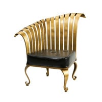 Gold Iron Chair