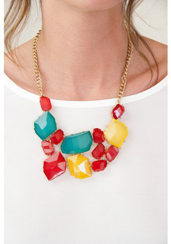 Juicy Gem Necklace - Accessories | Sugar and Sequins