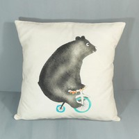 Comedy Circus Bear Cushion on Luulla