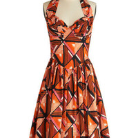 Graphic Patterns Dress | Mod Retro Vintage Dresses | ModCloth.com