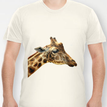 Jeffery the Giraffe T-shirt by Wood-n-Images | Society6