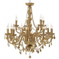 The Venice Gold Chandelier