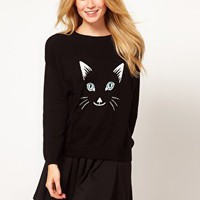 ASOS Cat Face Jumper