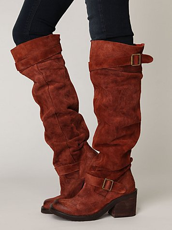 Free People Morgan Suede Tall Boot