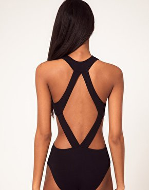 ASOS Body With Strappy Cut Away