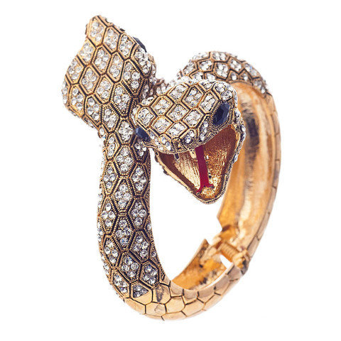 Pree Brulee - Desert Snake Bangle