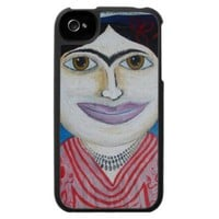 luna kalho iphone 4 cover from Zazzle.com