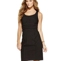 XOXO Dress, Sleeveless Pinstripe Sheath - Juniors Dresses - Macy's