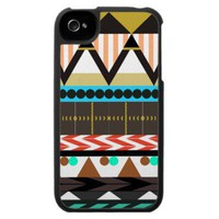 Earthy Aztec 1 Case For The Iphone 4 from Zazzle.com