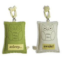 Tree by Kerri Lee green owl asleep~awake sign, handmade gifts, handmade handbags, handcrafted jewelry, handmade jewelry, designer clothing, designer products
