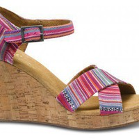 Tierra Women's Strappy Wedges