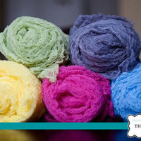 Cheesecloth Newborn Baby Maternity Wrap, Photo Prop , Your Choice of 4 Colors...