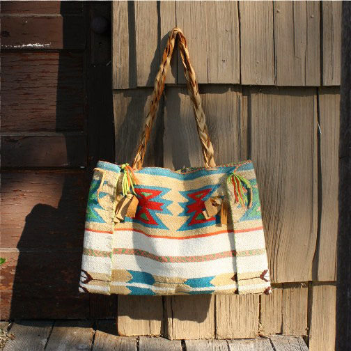 Dry Hills Indian Inspired Tote