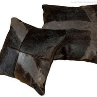 Zuo Mohava Cushion - Black - 912002, Accessories Rugs And Cushions, Modern Zuo Mohava Cushion: Nyfurnitureoutlets.com