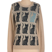 Blues Cat Sweater