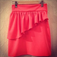 High-Waist Mini Skirt