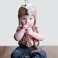 Mohawk Hat - Hip and Trendy kids Caps - Babies that ROCK
