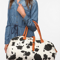 Cooperative Cow Print Weekender Bag