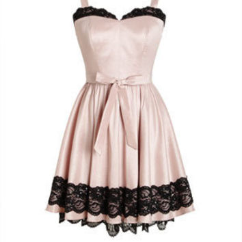 Sweet Heart Lace Dress