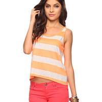 Neon Striped Tank