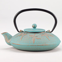 Aqua Butterfly Teapot