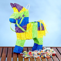 Burro Piata with Candy
