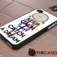 Keep Calm Dream Catcher iPhone 4s and iPhone 4 Case, Cover