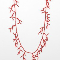 NeedSupply.com / Coral Necklace